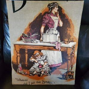 Bovril vintage advertisement